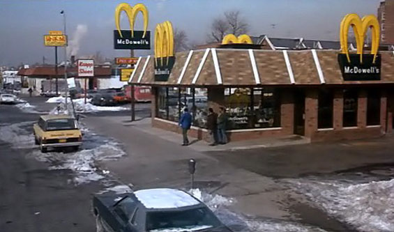 McDowell's franchise on Queens Bolevard